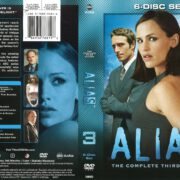 Alias Season 3 (2003) R1 DVD Cover