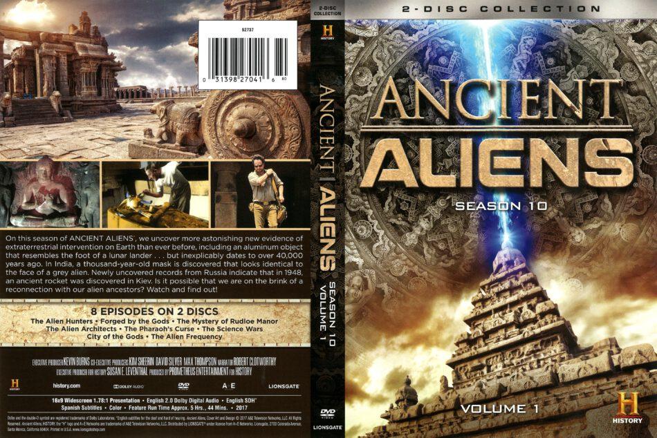 Ancient Aliens Season 10 Volume 1 (2017) R1 DVD Cover - DVDcover Com