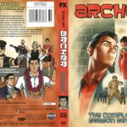 Archer Season 7 (2016) R1 DVD Cover