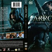 Arrow Season 5 (2017) R1 DVD Covers