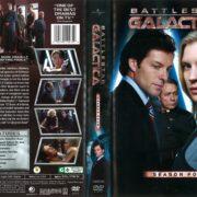 Battlestar Galactica Season 4 (2011) R1 DVD Cover