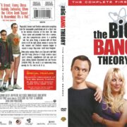 The Big Bang Theory Season 1 (2007) R1 DVD Cover