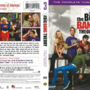 The Big Bang Theory Season 3 (2009) R1 DVD Cover