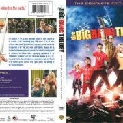 The Big Bang Theory Season 5 (2011) R1 DVD Cover