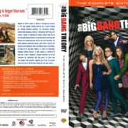 The Big Bang Theory Season 6 (2012) R1 DVD Cover