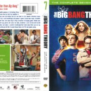 The Big Bang Theory Season 7 (2013) R1 DVD Cover
