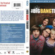 The Big Bang Theory Season 8 (2014) R1 DVD Cover