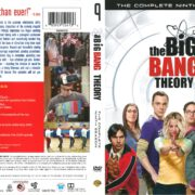 The Big Bang Theory Season 9 (2015) R1 DVD Cover