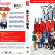 The Big Bang Theory Season 10 (2016) R1 DVD Cover