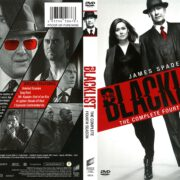 The Blacklist Season 4 (2016) R1 DVD Cover