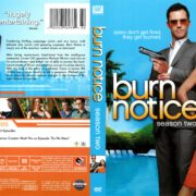 Burn Notice Season 2 (2008) R1 DVD Cover