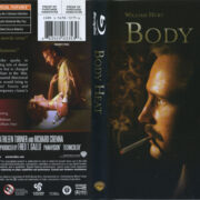 Body Heat (1981) R1 Blu-Ray Cover & Label
