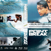 Point Break Double Feature (1991-2015) R1 Blu-Ray Custom Cover