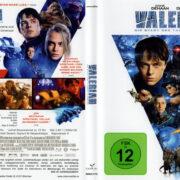 VALERIAN – Die Stadt der Tausend Planeten (2017) R2 German Blu-Ray Cover & Label