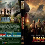 Jumanji: Welcome To The Jungle (2017) R1 CUSTOM DVD Cover & Label