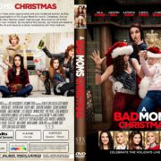 A Bad Moms Christmas (2017) R1 CUSTOM DVD Cover & Label