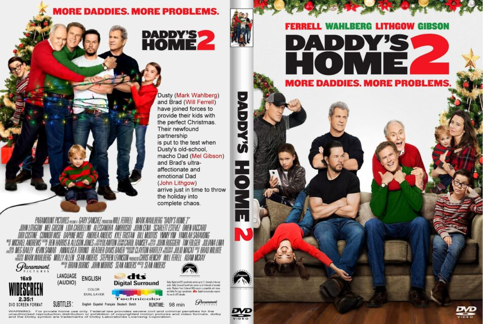 Daddy S Home 2 2017 R1 Custom Dvd Cover Label Dvdcover Com