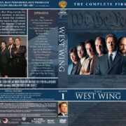 The West Wing – Season 1 (2000) R1 Custom DVD Cover & Labels