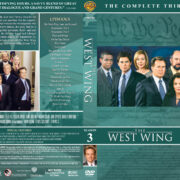 The West Wing - Season 3 (2002) R1 Custom DVD Cover & Labels