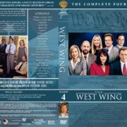 The West Wing - Season 4 (2003) R1 DVD Cover & Labels