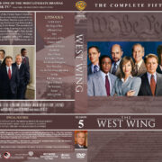 The West Wing - Season 5 (2004) R1 DVD Cover & Labels