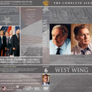 The West Wing - Season 6 (2005) R1 DVD Cover & Labels
