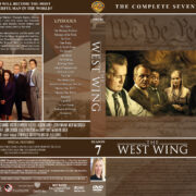The West Wing - Season 7 (2006) R1 DVD Cover & Labels