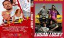 Logan Lucky (2017) R1 CUSTOM DVD Cover & Label