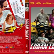 Logan Lucky (2017) R1 CUSTOM DVD Cover & Label