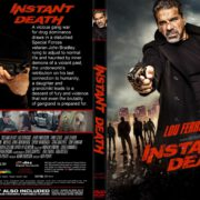 Instant Death (2017) R2 CUSTOM DVD Cover & Label