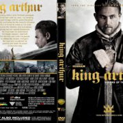 King Arthur (2017) R2 CUSTOM DVD Cover & Label