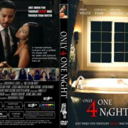 Only For One Night (2016) R1 CUSTOM DVD Cover & Label