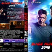 Blade Runner 2049 (2017) R1 CUSTOM DVD Cover & Label