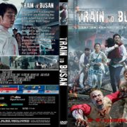 Train To Busan (2016) R2 CUSTOM DVD Cover & Label
