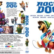 Rock Dog (2017) R1 CUSTOM DVD Cover & Label
