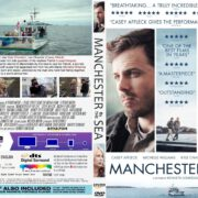 Manchester By The Sea (2016) R1 CUSTOM DVD Cover & Label