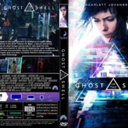 Ghost In The Shell (2017) R1 CUSTOM DVD Cover & Label