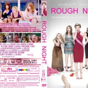 Rough Night (2017) R1 CUSTOM DVD Cover & Label