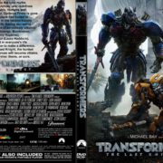 Transformers: The Last Knight (2017) CUSTOM DVD Cover & Label