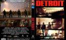 Detroit (2017) R1 CUSTOM DVD Cover & Label