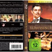 Vom Winde verweht (1939) R2 German Blu-Ray Cover & Label