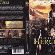 The Legend of Hercules (2014) R2 German Blu-Ray Covers & Label