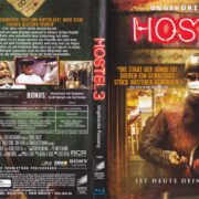 Hostel 3 (2011) R2 German Blu-Ray Cover & Label