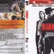 Django Unchained (2012) R2 German Blu-Ray Covers & Label