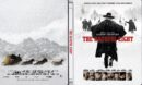 The Hateful 8 (2015) R2 German Blu-Ray Cover & Label