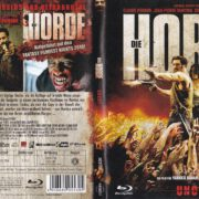 Die Horde (2009) R2 German Blu-Ray Cover & Label