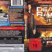 Death Race (2008) R2 German Blu-Ray Cover & Label