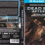 Dead Space: Aftermath 3D (2012) R2 German Blu-Ray Covers & Label