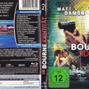 Die Bourne Identität (2002) R2 German Blu-Ray Cover & Label