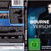 Die Bourne Verschwörung (2004) R2 German Blu-Ray Cover & Label